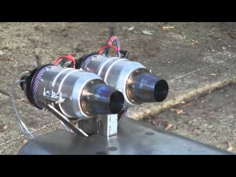 Homemade Jet Engine 2.0 | 2. Testrun - YouTube