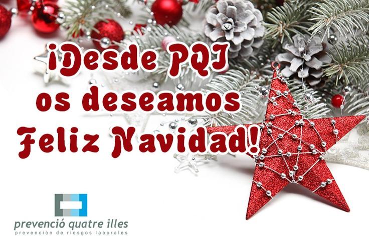 Desde el equipo de PQI - Prevención de Riesgos Laborales en Mallorca queremos desear a todos nuestros seguidores y clientes unas Felices Fiestas y un buen año 2013. ¡Gracias por confiar en nosotros!