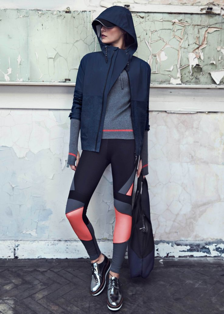 Stay warm during cold outdoor workouts with cosy, opaque, thermal and sweat-wicking activewear.