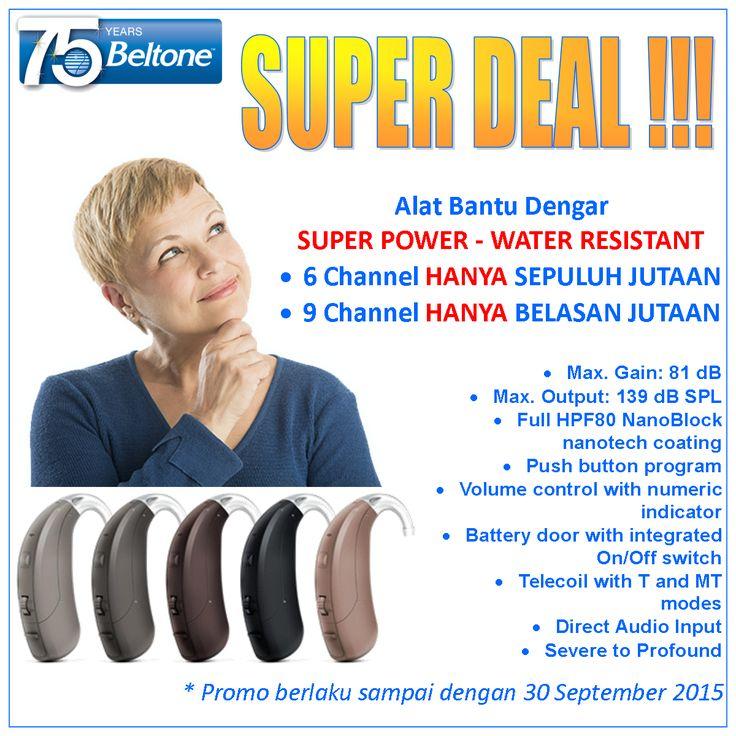 Alat Bantu Dengar Super Power, Beltone BOLD | Sentra Penjualan Audiometer, Tympanometer, OAE, ABR/BERA/ASSR, Alat Bantu Dengar, Tinnitus Masker serta Produk Medis THT