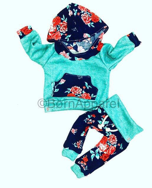 BABY GIRL outfit / baby clothes / baby girl clothes by BornApparel