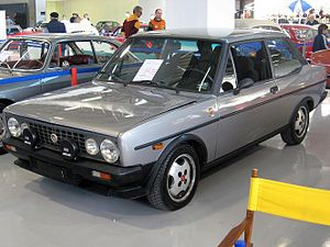 Fiat 131 Volumetrico Abarth – 1981