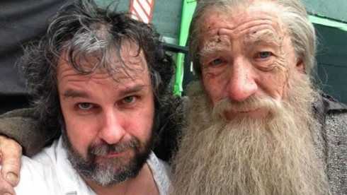 Ian McKellen Shoots Final Gandalf Scenes for 'The Hobbit'