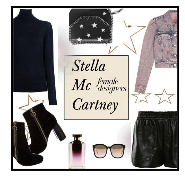 """Stella Mc Cartney"" by nanni33 ❤ liked on Polyvore featuring STELLA McCARTNEY, internationalwomensday, pressforprogress, FemaleDesigners and ByWomenForWomen"