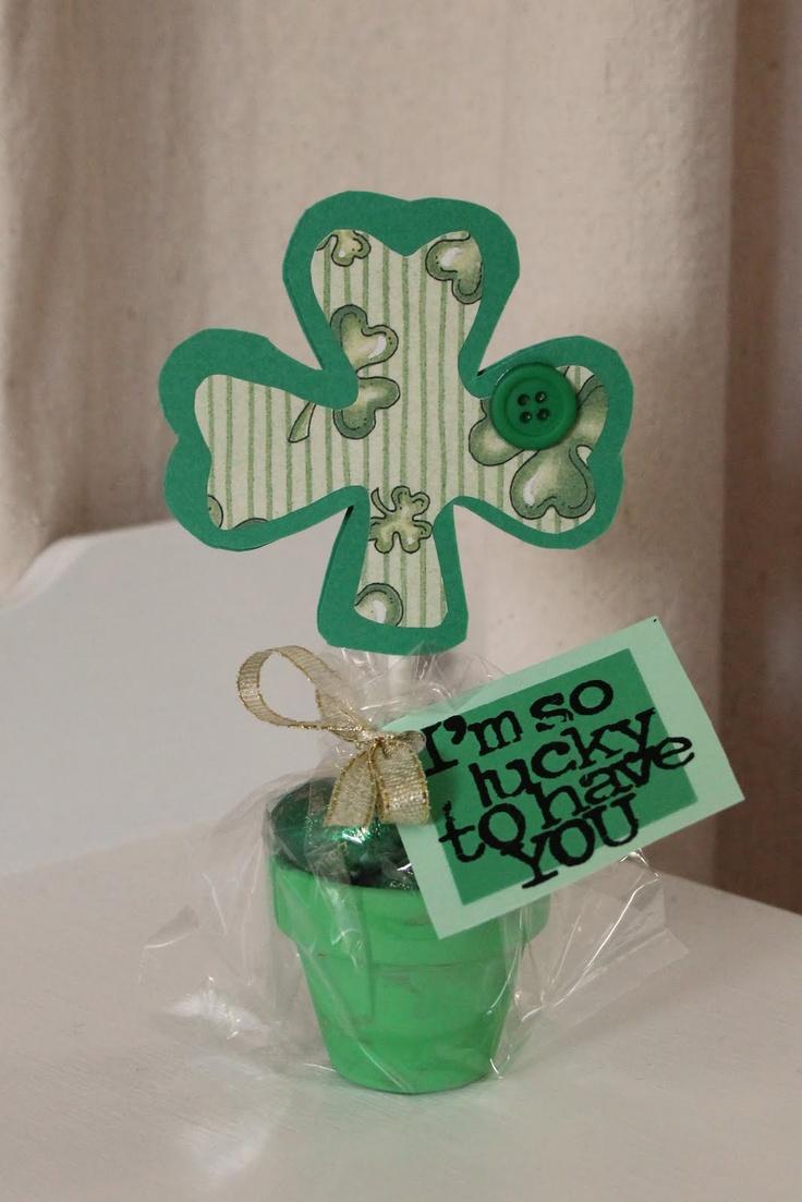 Frills Fluff and Trucks: St. Patrick's Day Teacher Gifts