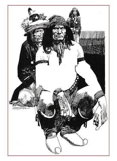 Sharaz-De is een grafische roman van Sergio Toppi met 11 verhalen. Ze zijn gebaseerd op de vertellingen van Duizend-en-één-nacht maar met Indiaanse en Afrikaanse personages.
