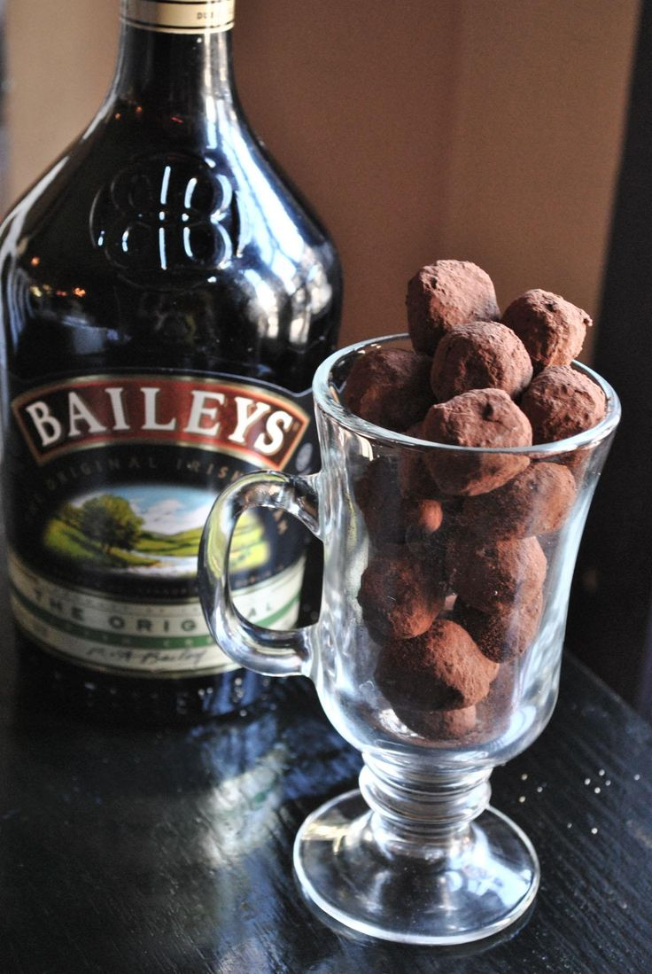 BAILEYS TRUFFLES  In one word: Decadent.