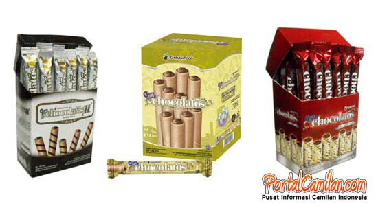 GERY CHOCOLATOS MERAIH TOP BRAND AWARD 2011-2014 :: Gery Chocolatos : Chocolate Wafer Stick   PortalCamilan.com