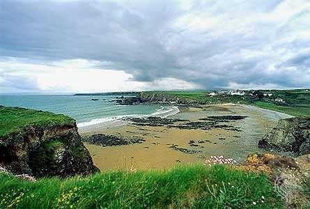 Beautiful coastline, County Waterford, Ireland