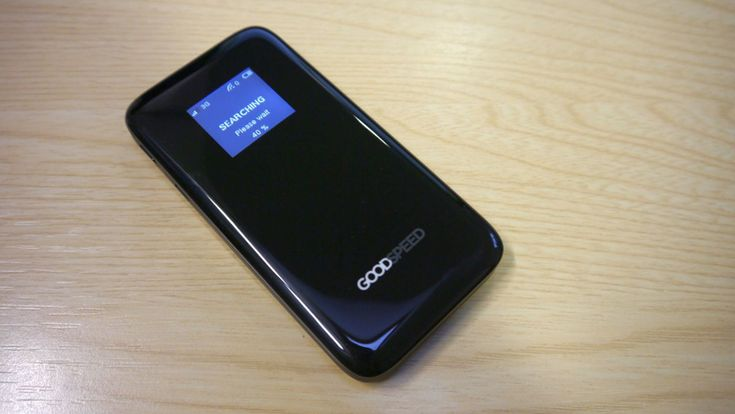 Uros Goodspeed MF900 Mobile Hotspot #review - A mobile hotspot with a difference  #techradar