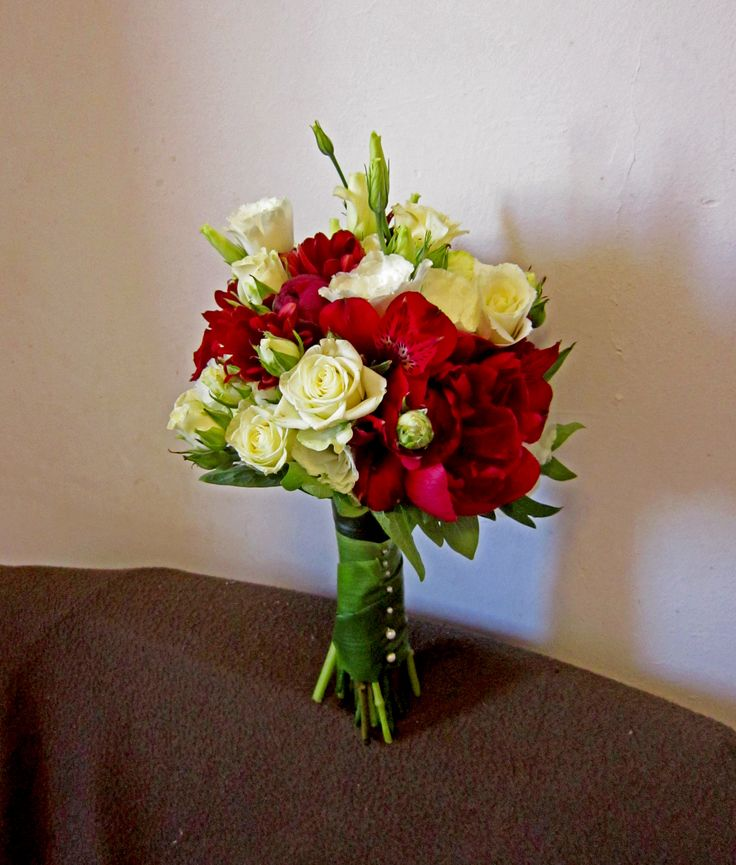red&white flowers