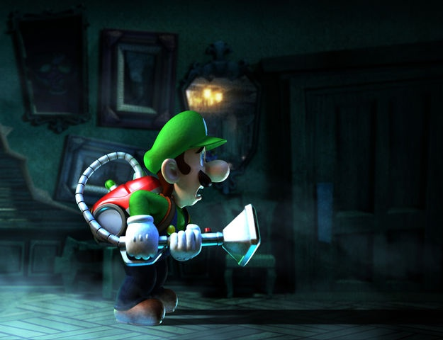 Luigi searching - Luigi's Mansion Dark Moon  Me too buddy, me too