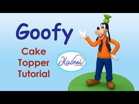 Tutorial daisy duck fondant cake topper paperina pasta di zucchero torta decorata - YouTube