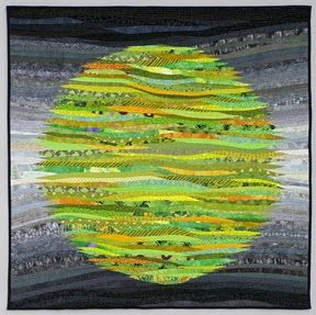 The Quilts of Ann Brauer: flames