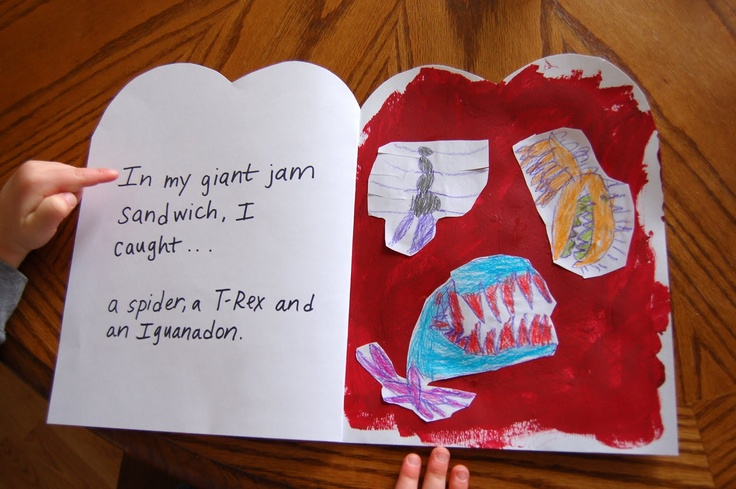 the giant jam sandwich - activity to go along with book