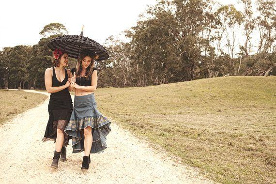 Flamenco Kleid Sommerkleid Baumwolle Cinch Kleid von IdisDesigns