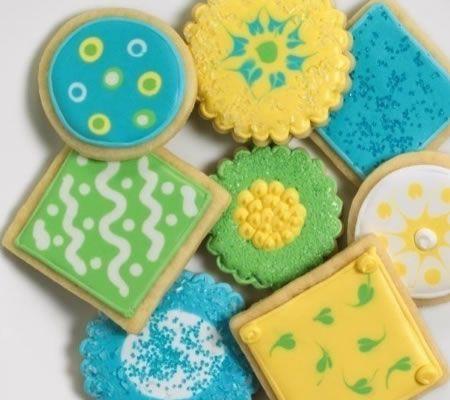 Diabetic Sugar-Free Sugar Cookies Recipe from Diabetic Gourmet Magazine. DiabeticGourmet.com