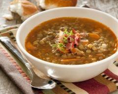 soupe de feves fraiches