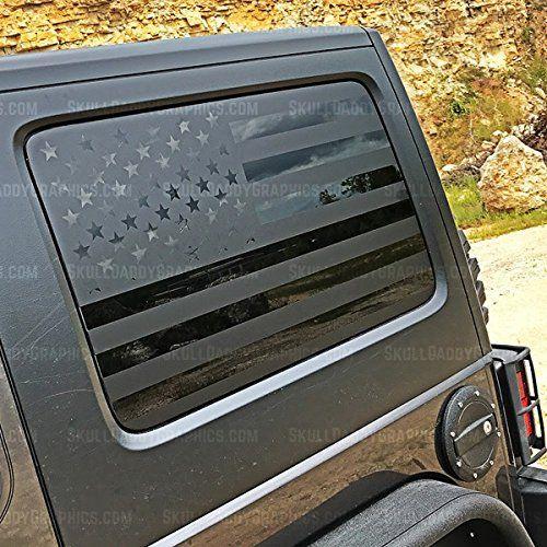 JK Hard top Window Flags to fit Jeep Wrangler 2007-2017 (JK). For product info go to:  https://www.caraccessoriesonlinemarket.com/jk-hard-top-window-flags-to-fit-jeep-wrangler-2007-2017-jk/
