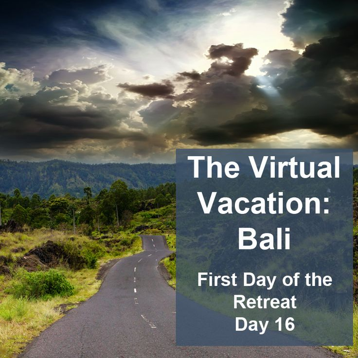 """""""Before I went to bed last night, I decided to email Dr. Wayan and invite her to be a part of the online Roadmap community since she's so enthusiastic about writing. This is what I sent her:.."""" Read the rest of this post at the Virtual Vacation Blog by double clicking on the image above."""