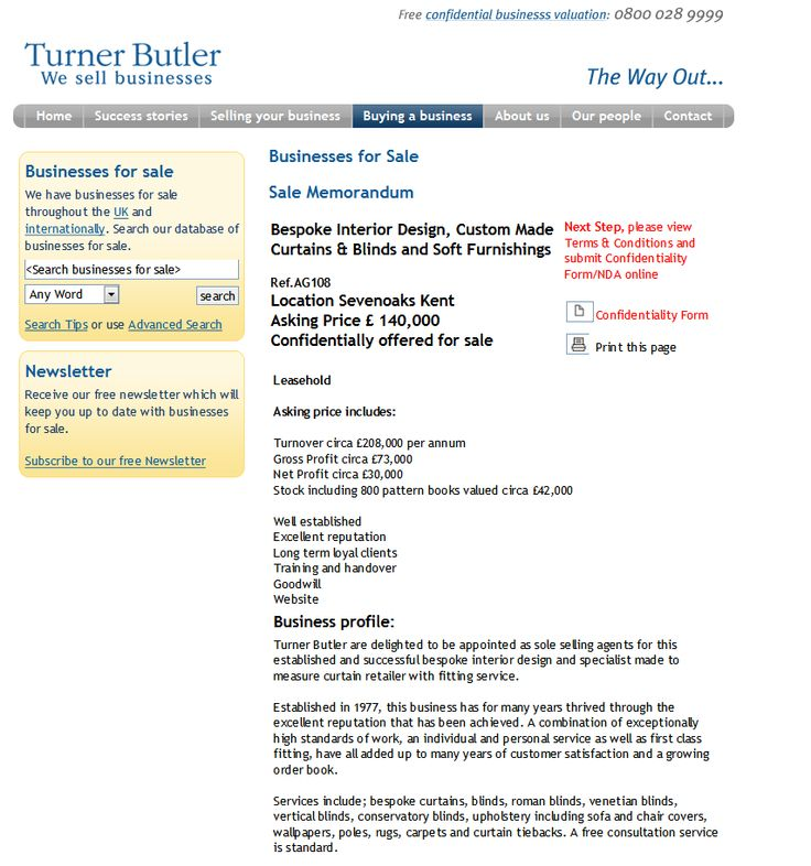 Businesses For Sale Selling Your Business Turner Butler Rupert
