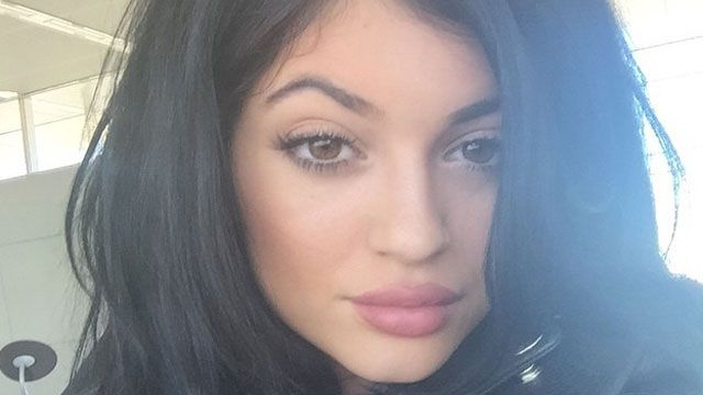 Read Kylie Jenner's lips: She's bored with people talking about her mouth.