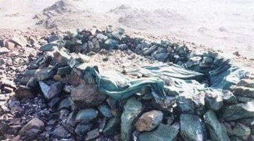 "Grave of ""Bunda"" Aminah, mother of Rasulullah Muhammad SAW (PBUH)"