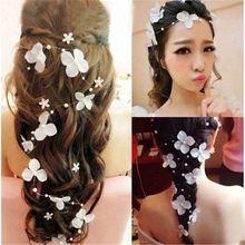 Bloem bruid hairddress sieraden weddding decoratie handgemaakte parels trouwjurk acessories Studio Fotografie hoofdtooi(China (Mainland))