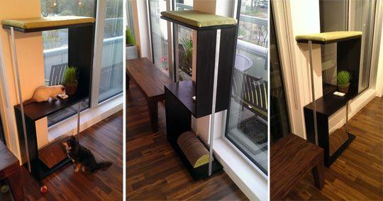 Cool piece of modern cat furniture