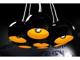 Hängeleuchte TEMPE Schwarz Gold Hängelampe Pendellampe Pendelleuchte Lampe  In Möbel U0026 Wohnen, Beleuchtung, Deckenlampen U0026 Kronleuchter