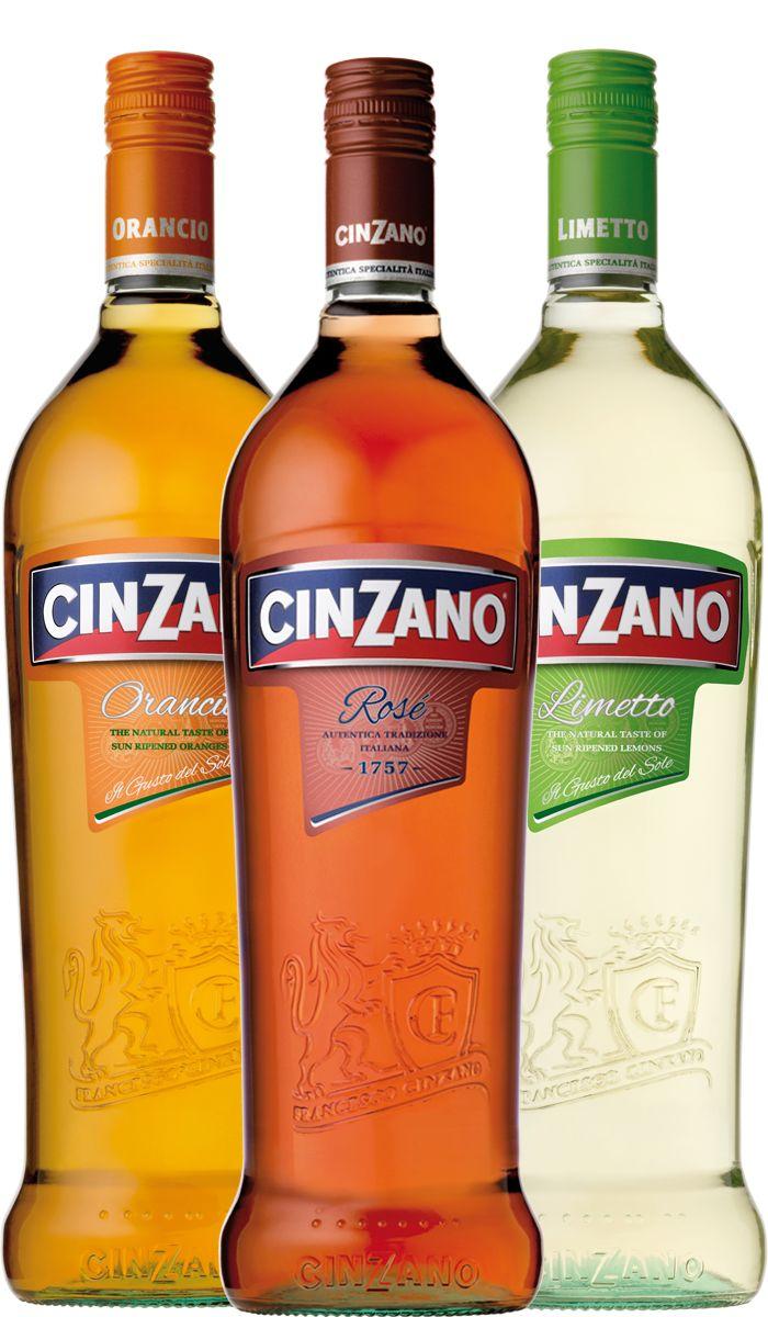 Cinzano Limetto, Rose, ..........and my very favourit: Orancio!