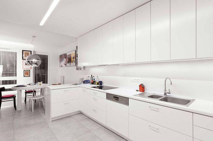 Mieszkanie z kolekcją sztuki - Aranżacja i wystrój wnętrz - Dom z pomysłem