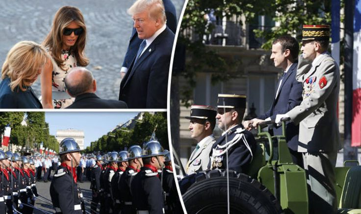 What is Bastille Day 2017? Donald Trump and Macron watch military parade in Paris