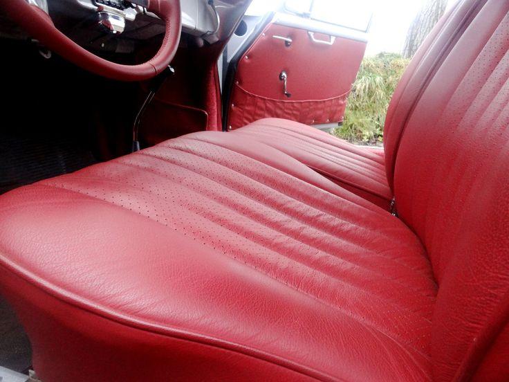Porsche 356b  custom car upholstery