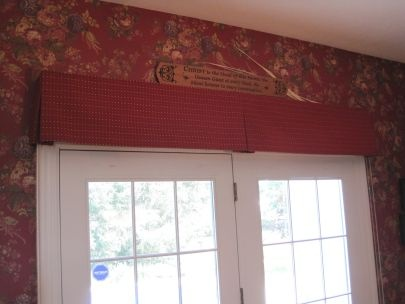 Layering Window Treatments Box Valance Over Roller Shades
