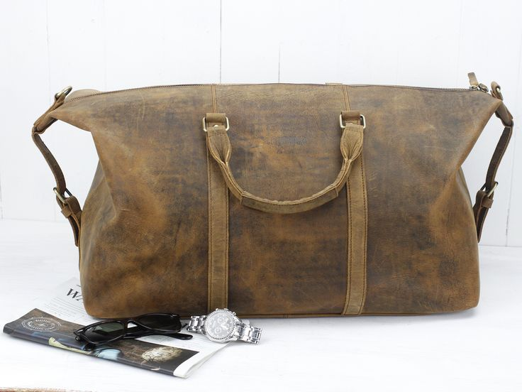 The Duffle Bag - a new addition to our original collection of travel bags.