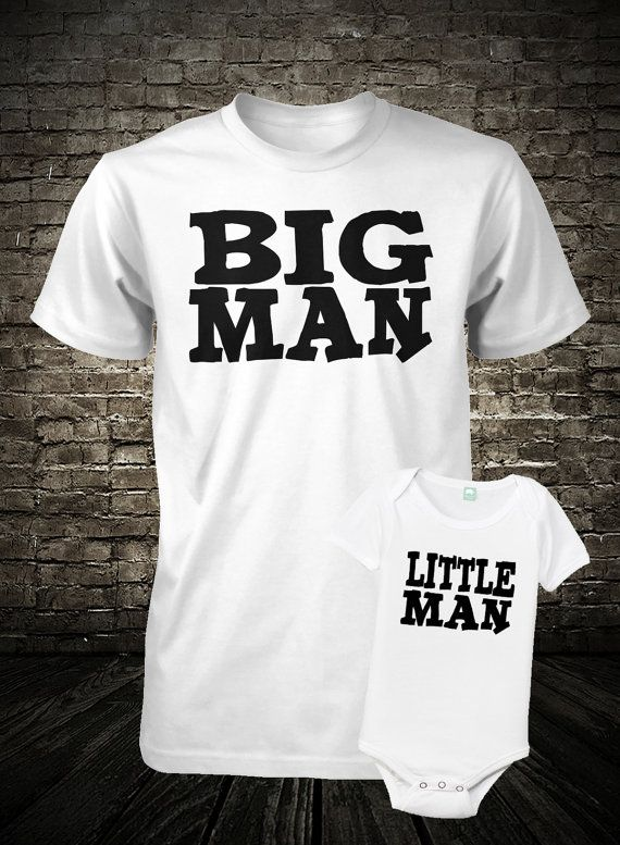 Father and Son or Big Brother Little Brother Shirt Set  by FunhouseTshirts, $27.98