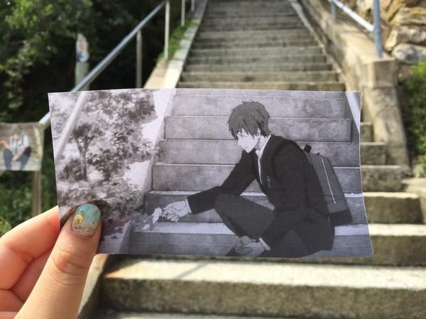 Fan Recreates Free! Anime Scenes at the Real Life Locations