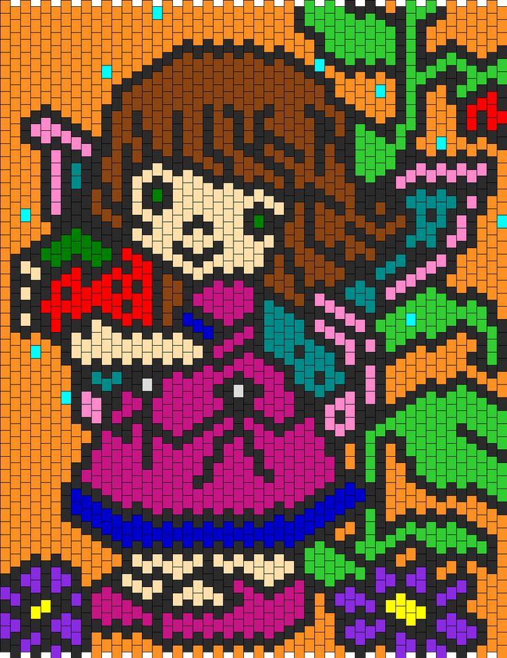 Precious Moment Fairy  bead pattern