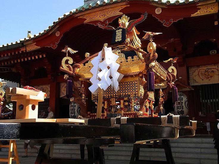 【2019年版】日本三大祭之一! 東京神田祭 穿越到平安時代抬轎繞境! | 日本, 平安時代, 祭