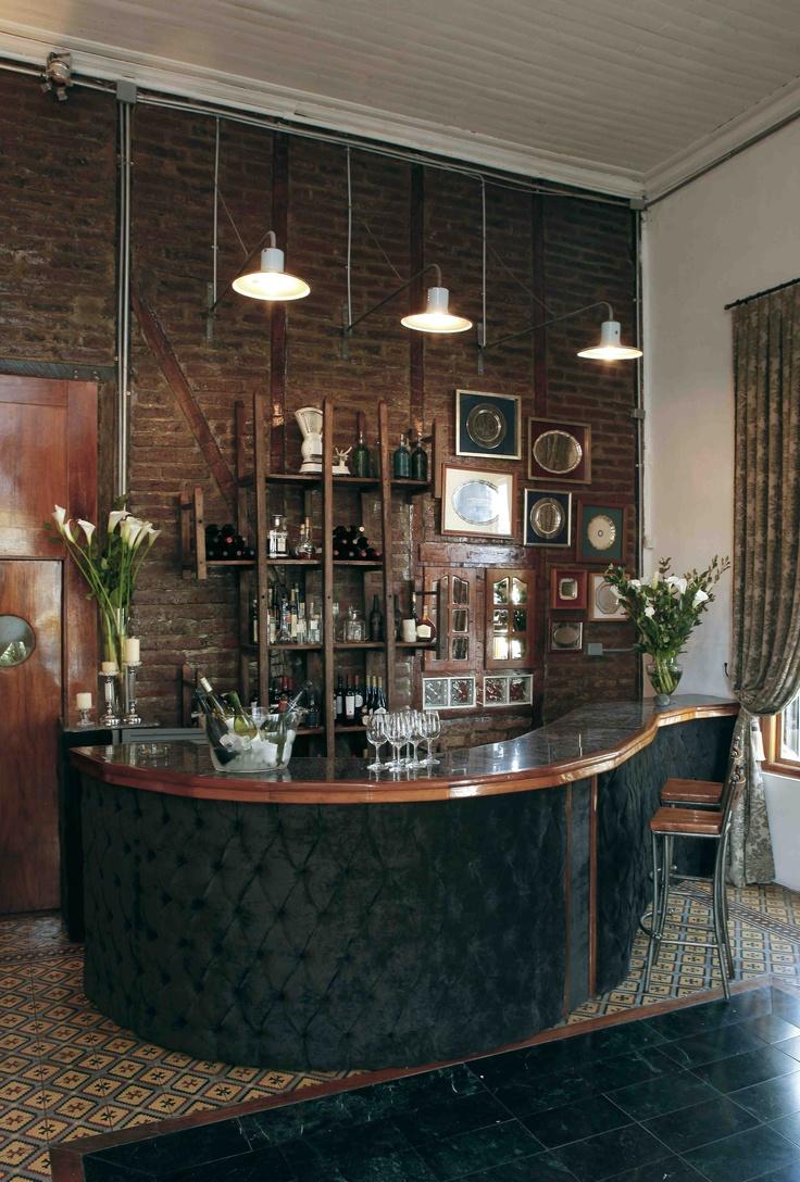 El bar, un encantador lugar para iniciar el almuerzo o la comida.