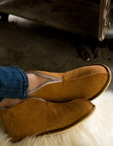 Men's Sheepskin Bootee Slippers, from Celtic & Co http://www.celticandco.co.uk/new-in/mens-slipper/