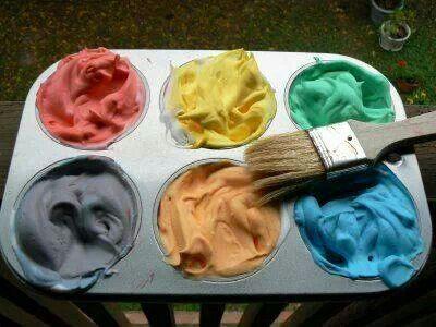 crme barbe colorant alimentaire peinture pour le bain quoiqud a serait mieux - Tache Colorant Alimentaire