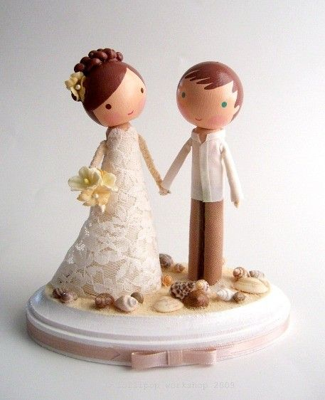 161 best Wedding Cake Toppers images on Pinterest | Conch fritters ...