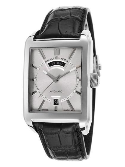 Men's Pontos Automatic Alligator Leather Watch by Maurice Lacroix at Gilt