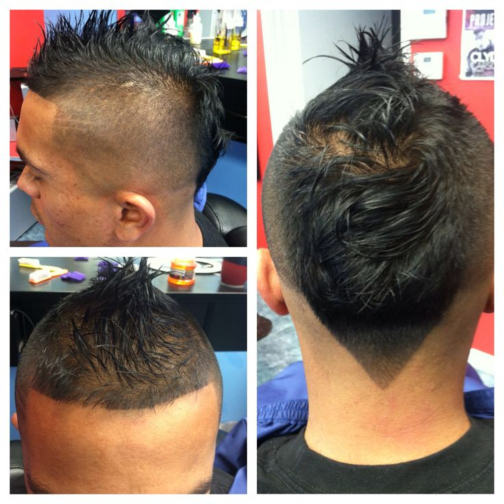 Mohawk Fade With Tail