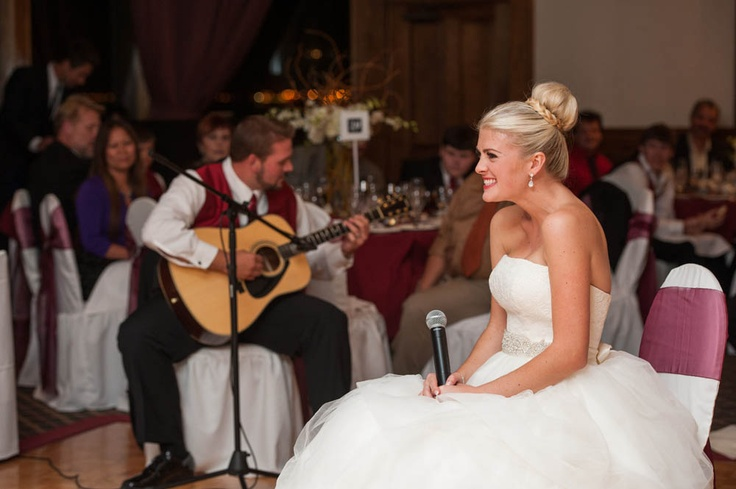 Bride Song To Groom: Bride Sings To Groom Long Beach Wedding