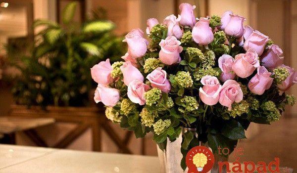 Jednoduchý trik, vďaka ktorému bude vaša kytica vždy vyzerať perfektne