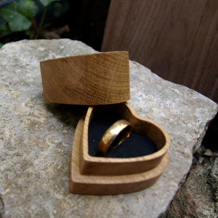 woodenringbox engagement ring box jewelry box wooden ring bearer wedding ring - Wedding Ring Boxes