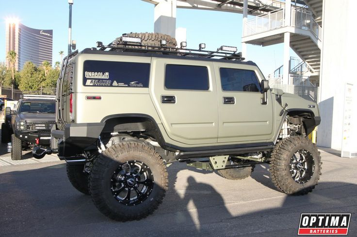Lifted hummer h2 at sema 2013 hummer h2 39 s pinterest for Christina hummer